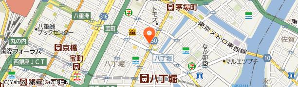 HACHIの所在地を示す地図