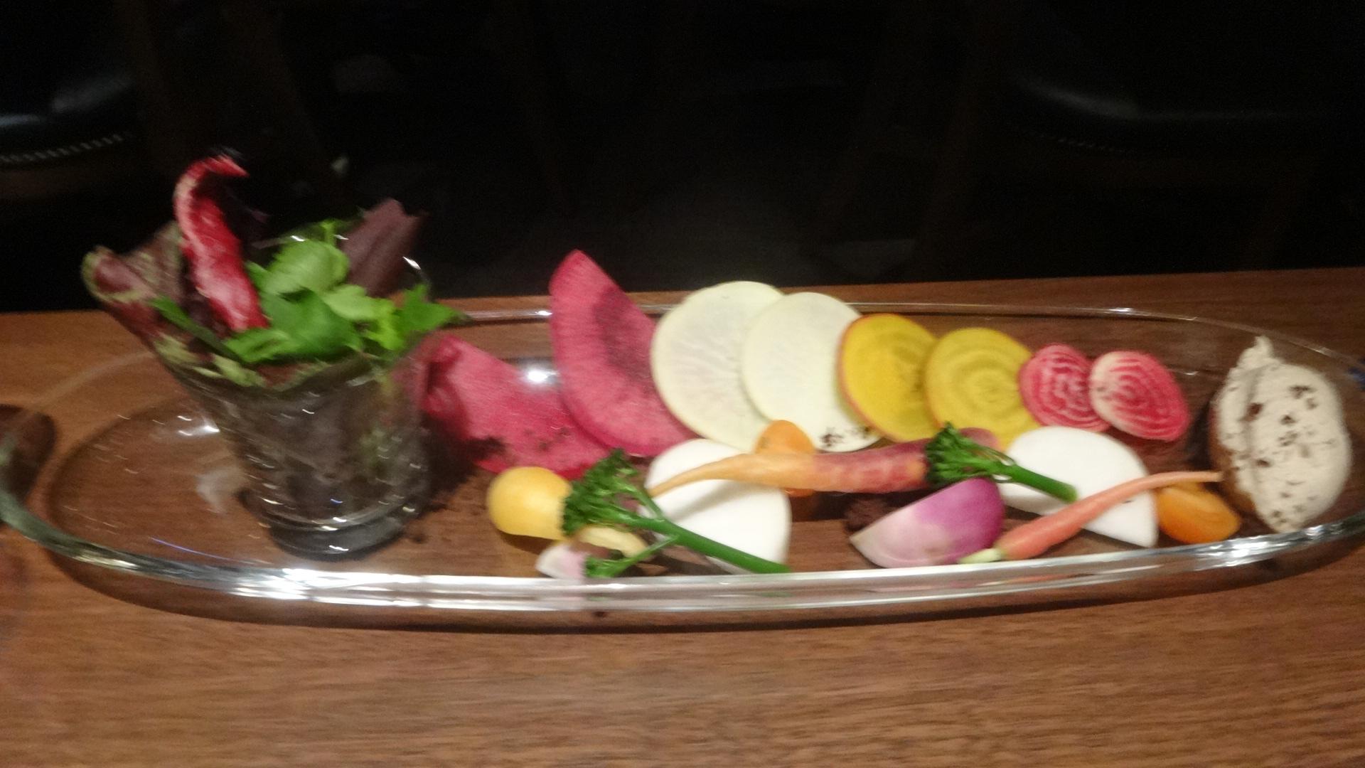 能登野菜のバーニャカウダ