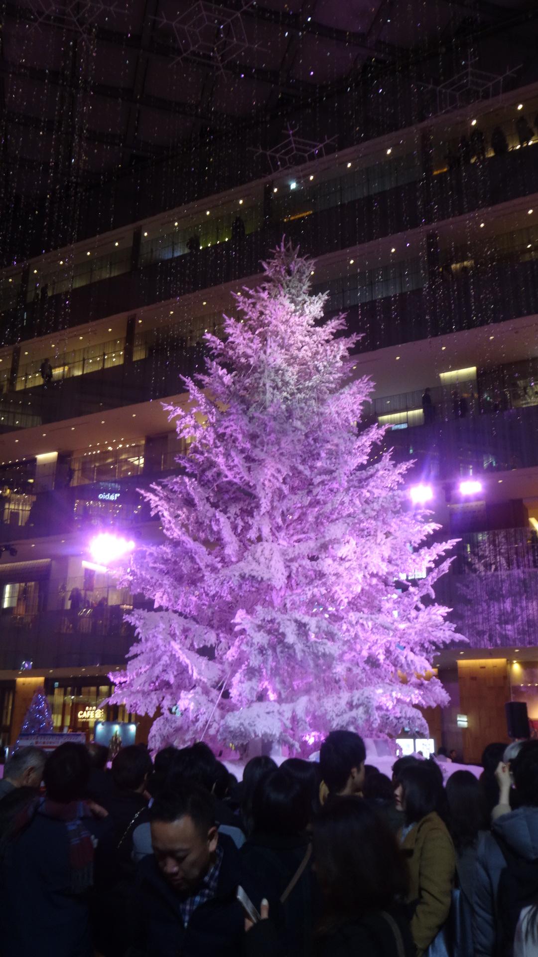 KITTEのホワイトクリスマスツリー2