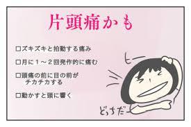 片頭痛を疑う症状