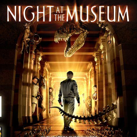 ナイトミュージアムのポスター