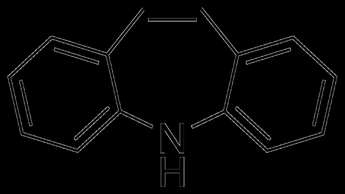 三環系の構造式