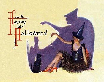 ハロウィンのポスター