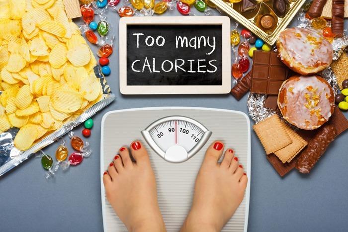 カロリー制限の必要性を示すイラスト