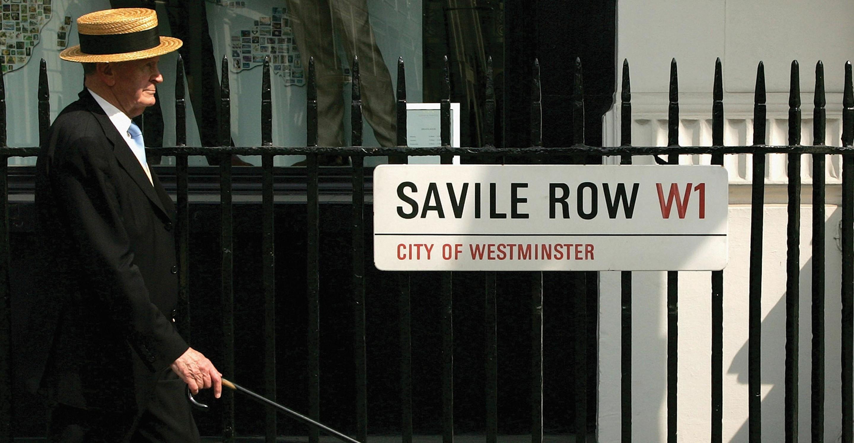 ロンドンのテーラー街 サヴィル・ロウの老舗テーラー