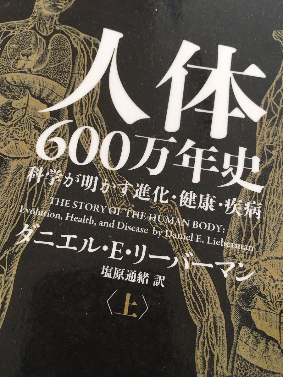 人体 600万年史 という本の表紙