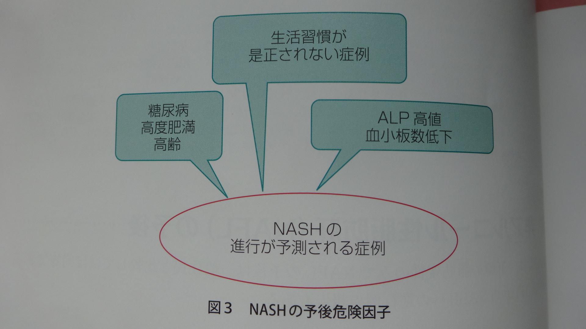 NASHの予後危険因子
