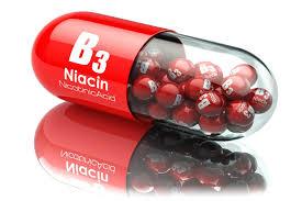 ビタミンB3 と書かれたカプセル