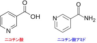 ナイアシン パントテン酸