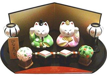 ネコのひな祭り人形の写真
