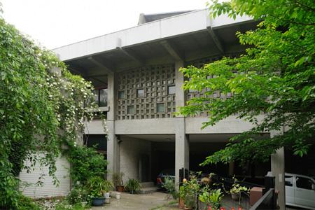 梅若能楽学院会館の外観
