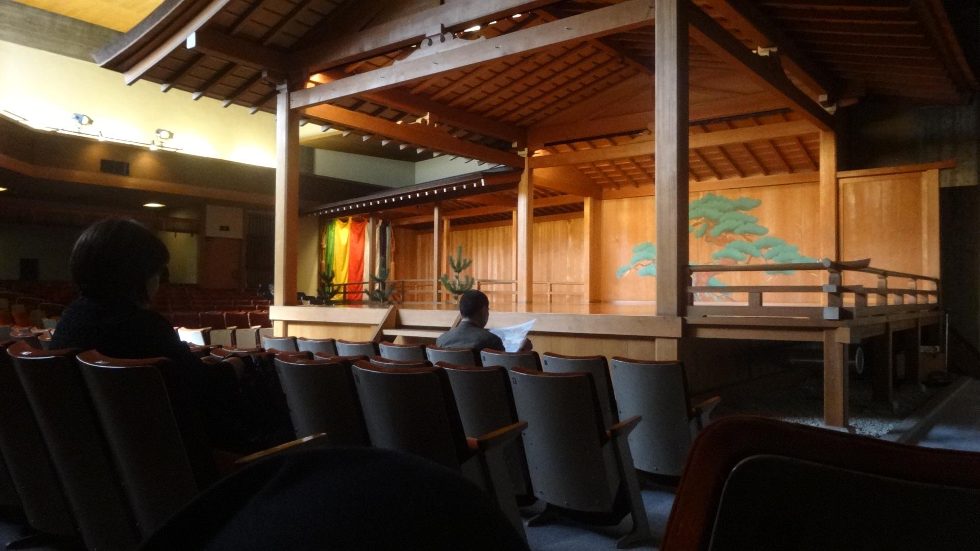 梅若能楽学院会館の能舞台