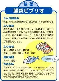 腸炎ビブリオの解説図