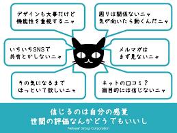 ネコ型人間の特徴を示した図