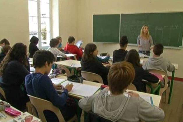 フランスの学校の授業風景
