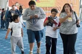 みんなが肥満の家族