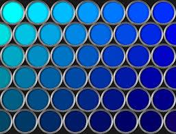 青色のグラデイエーション