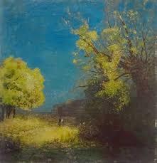 ペイル・ルバードに住んでいたころに描いた自然の風景