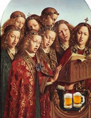 中世の宗教音楽の声楽隊