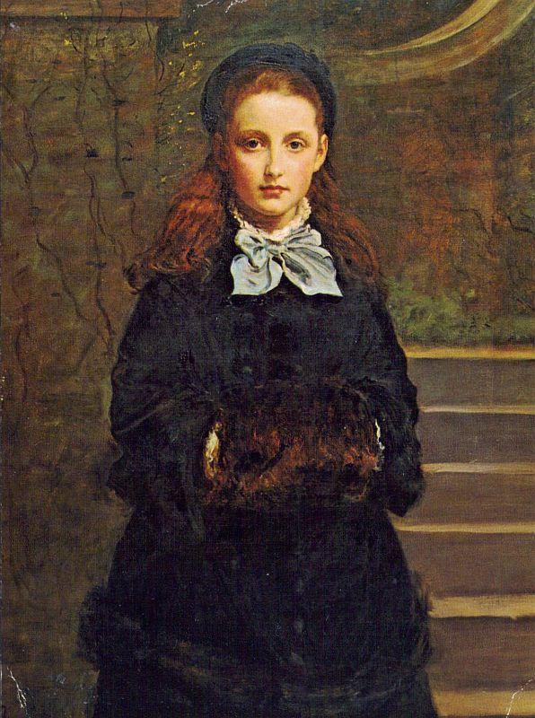 ミレイが描いた女性1