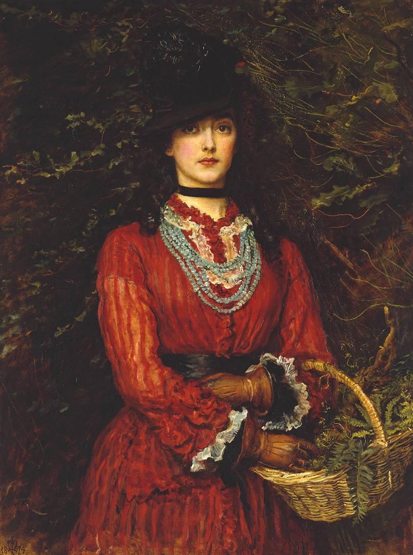 ミレイが描いた女性2