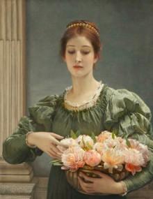 チャールズ・エドワード・ペルジーニが描いた女性