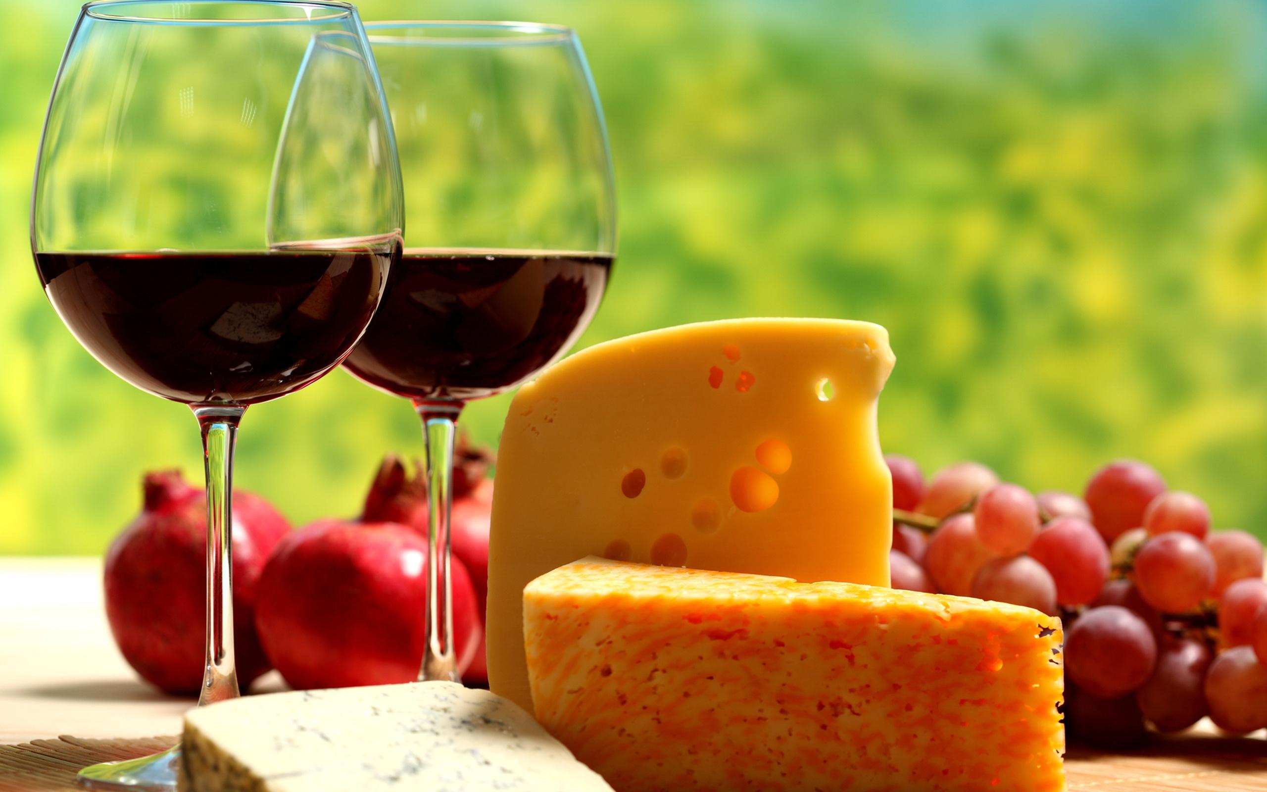 ワインとチーズ