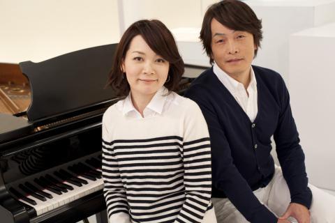 石田衣良さんと加羽沢美濃さんの写真
