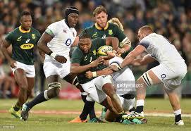 活躍する南アフリカの選手