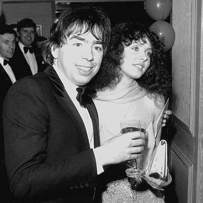 結婚した頃のサラとロイド・ウエーバー