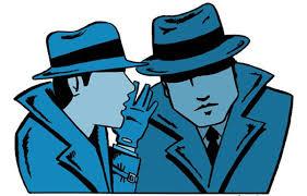 諜報活動を行う人