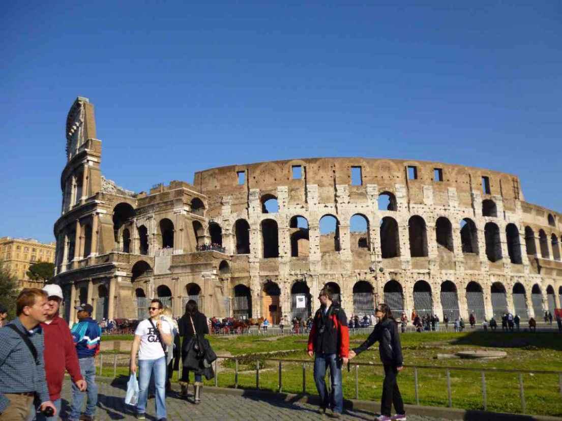 ローマ時代の遺跡の写真