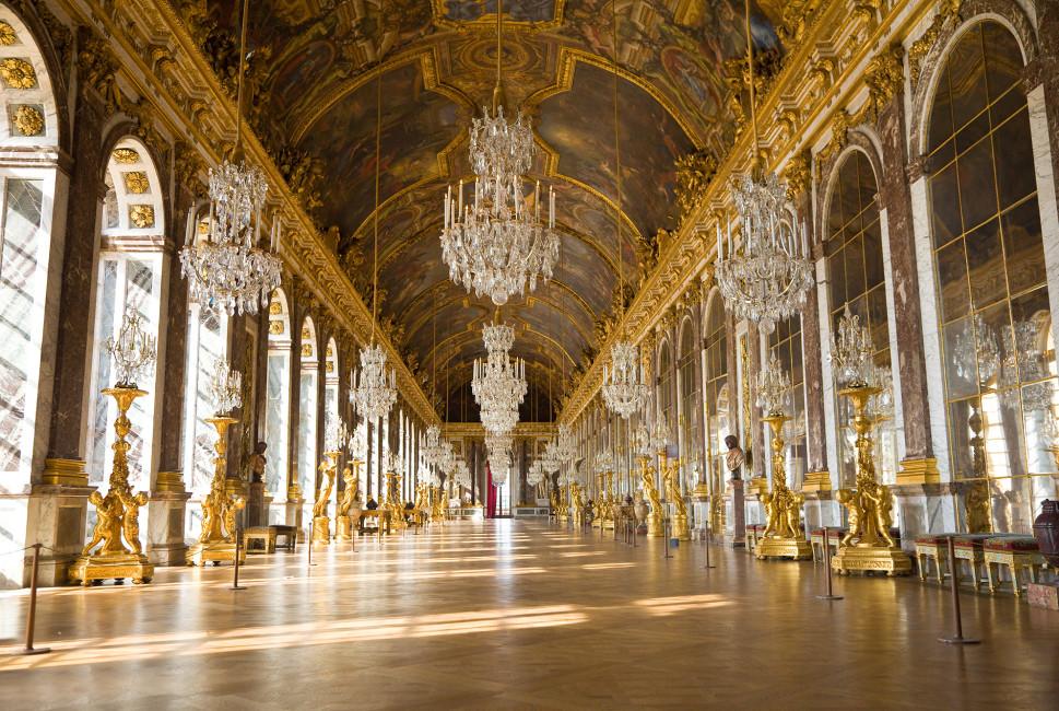 ベルサイユ宮殿の内部