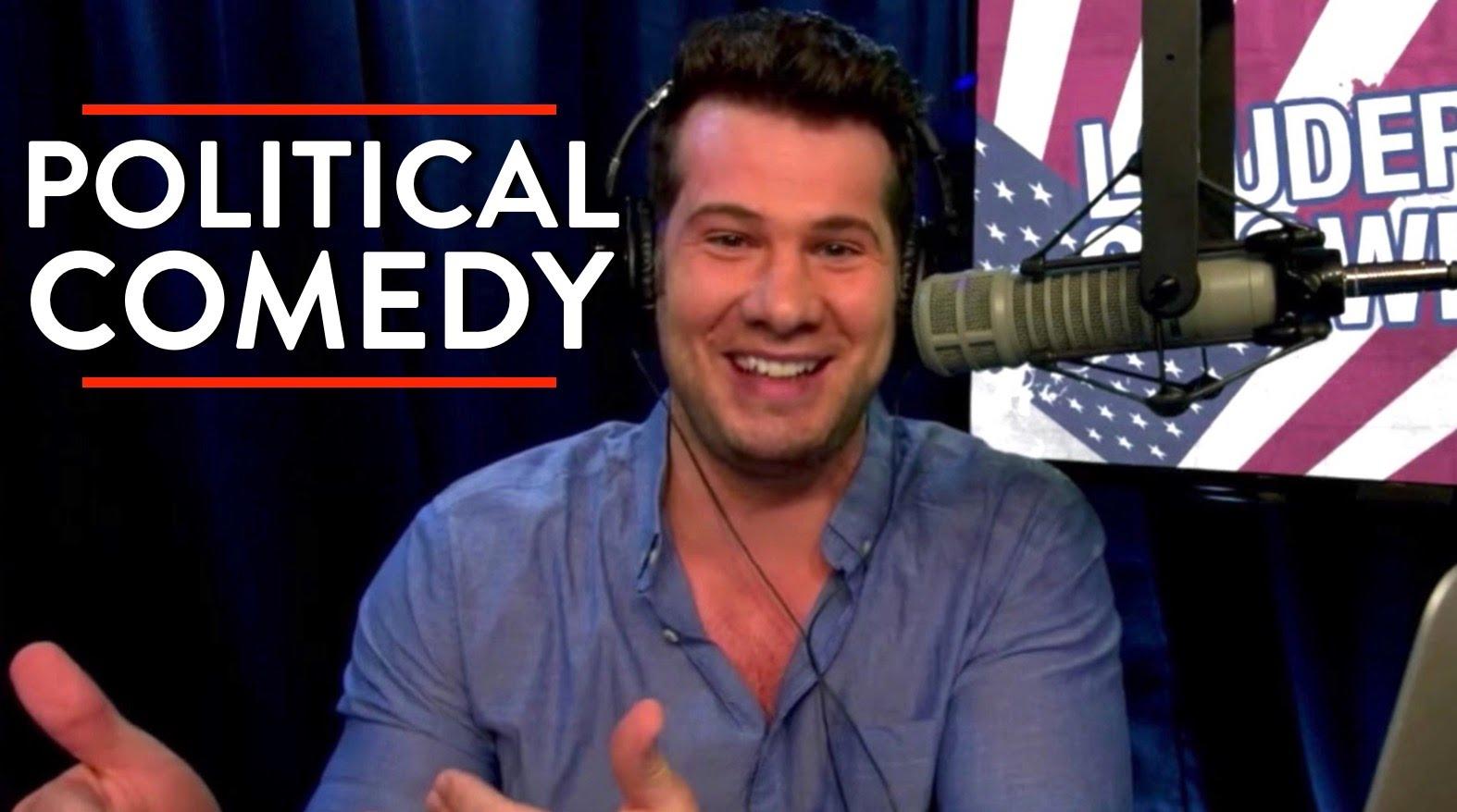 アメリカの政治芸人さんの写真