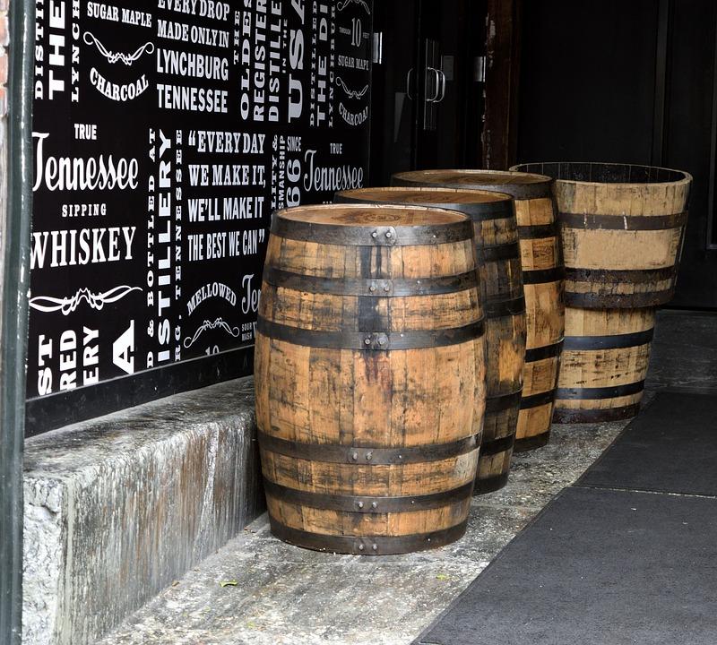 バーボン樽の写真