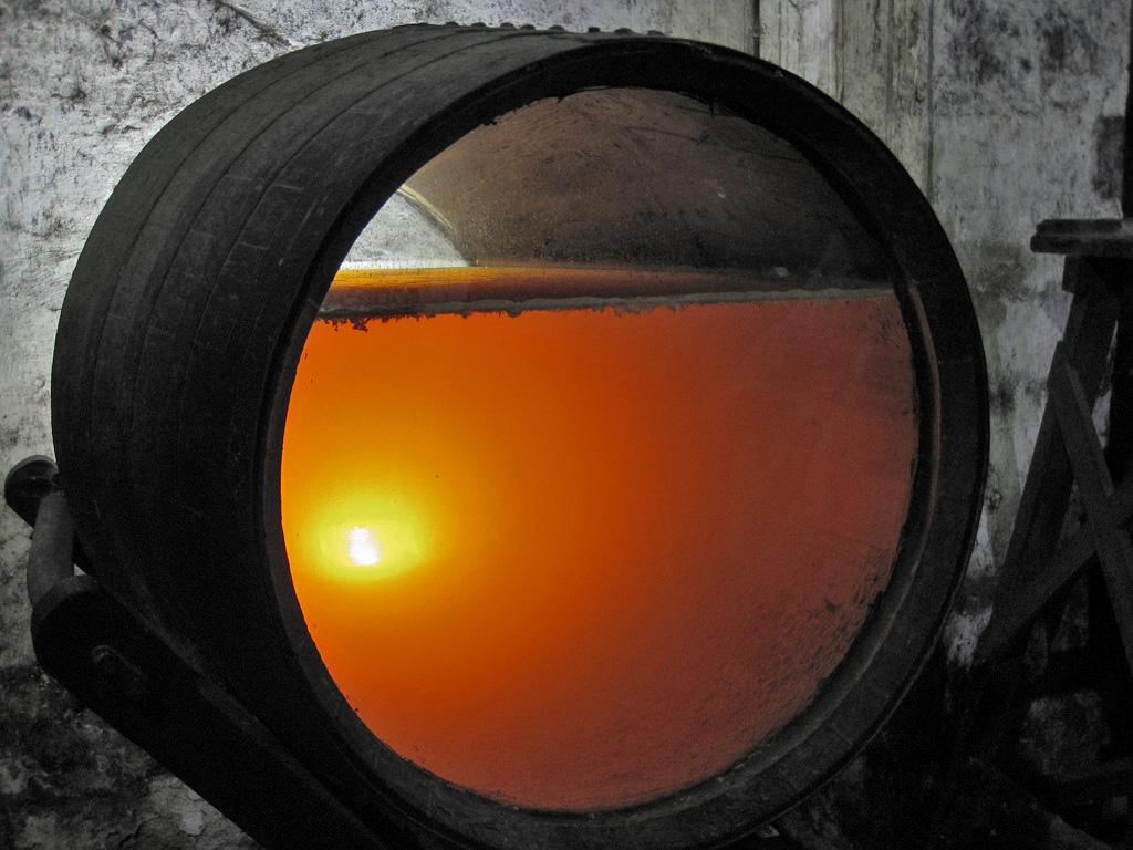 シェリー樽の写真