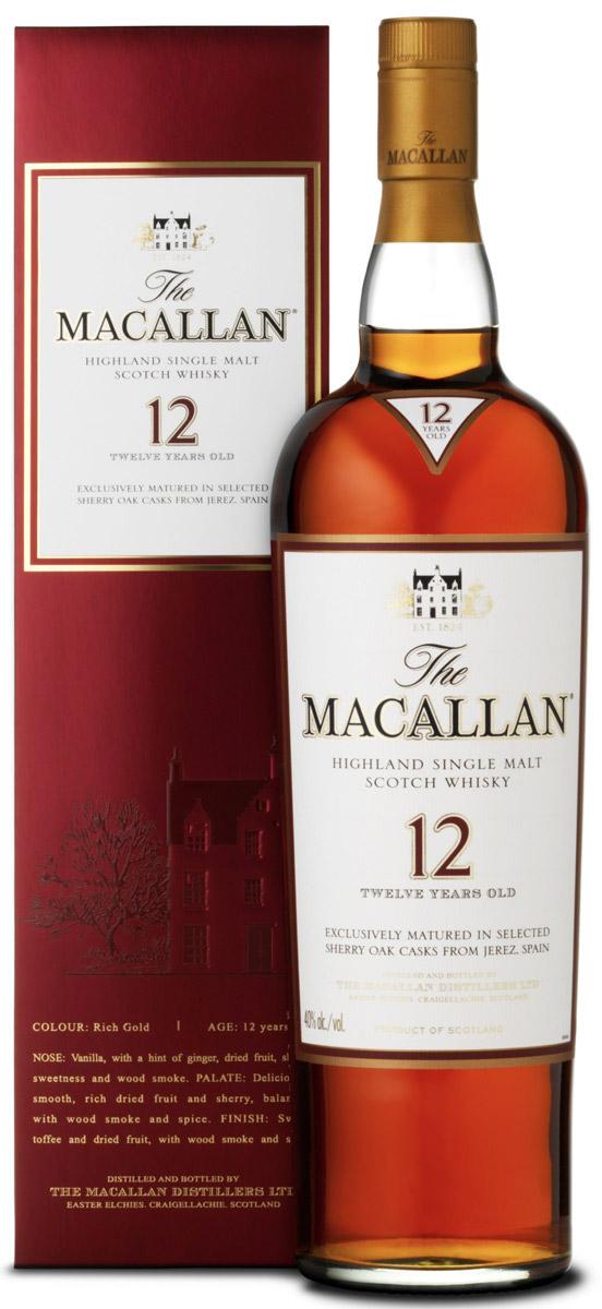 マッカランのボトルの写真
