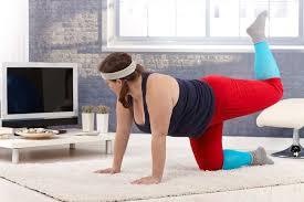 日々少しずつ継続して運動している肥満な人