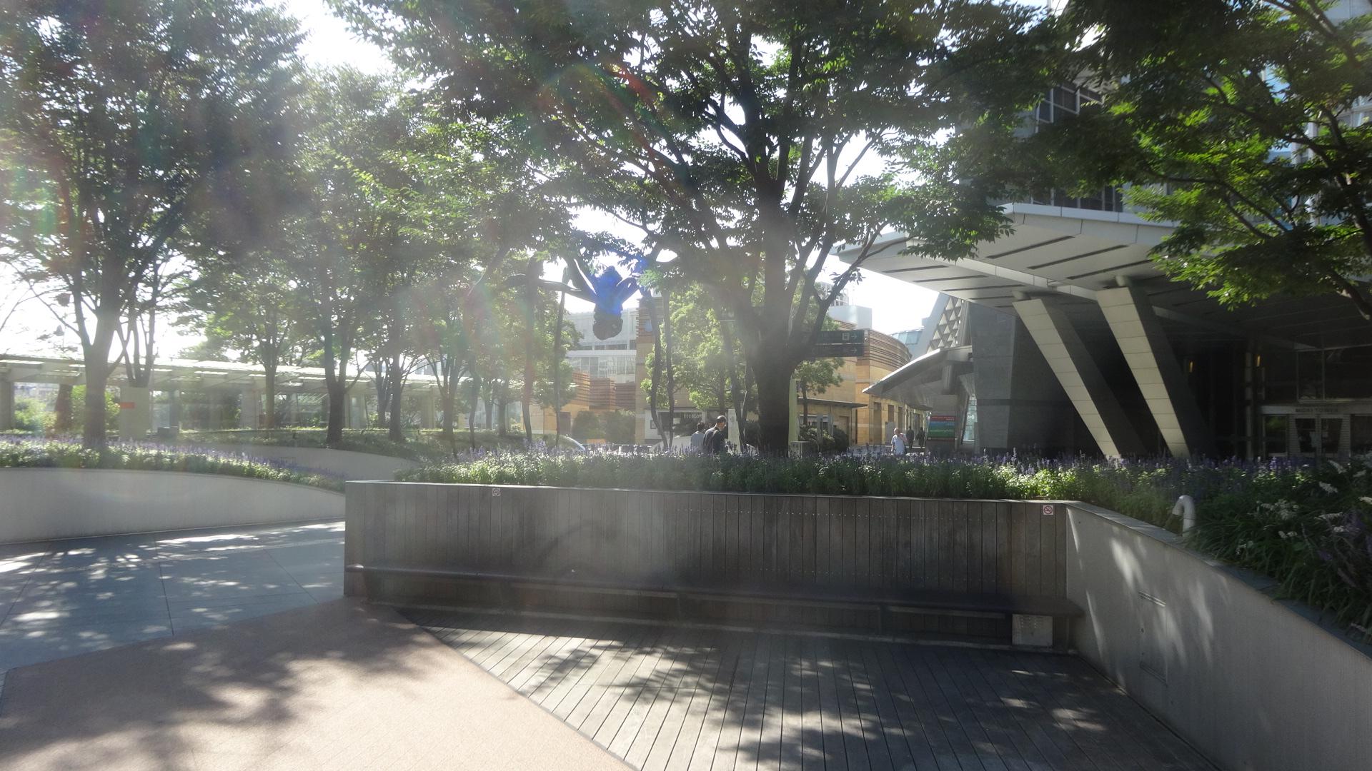 朝の六本木ヒルズの光景