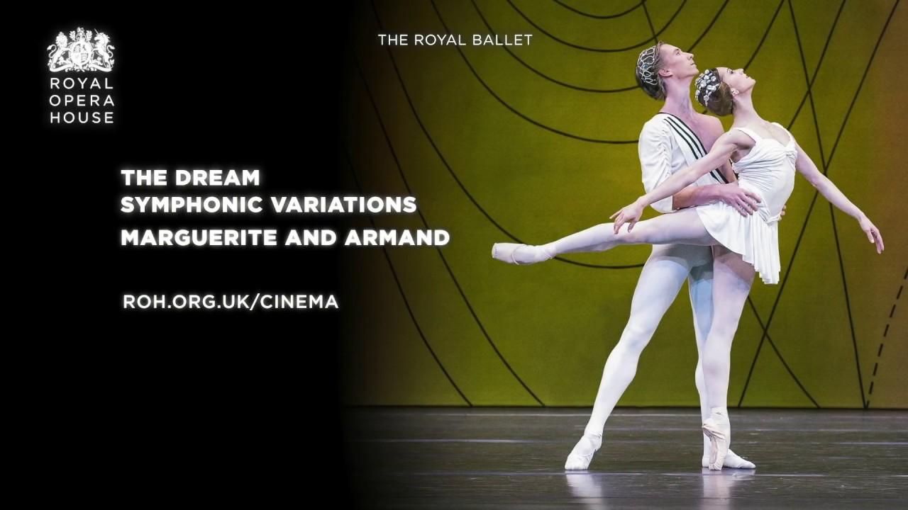 英国ロイヤルバレエの宣伝ポスターその2