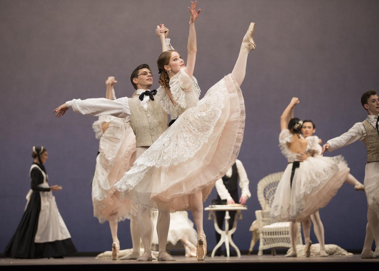 群舞のコール・ド・バレエ2