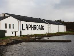 ラフロイグ醸造所の写真