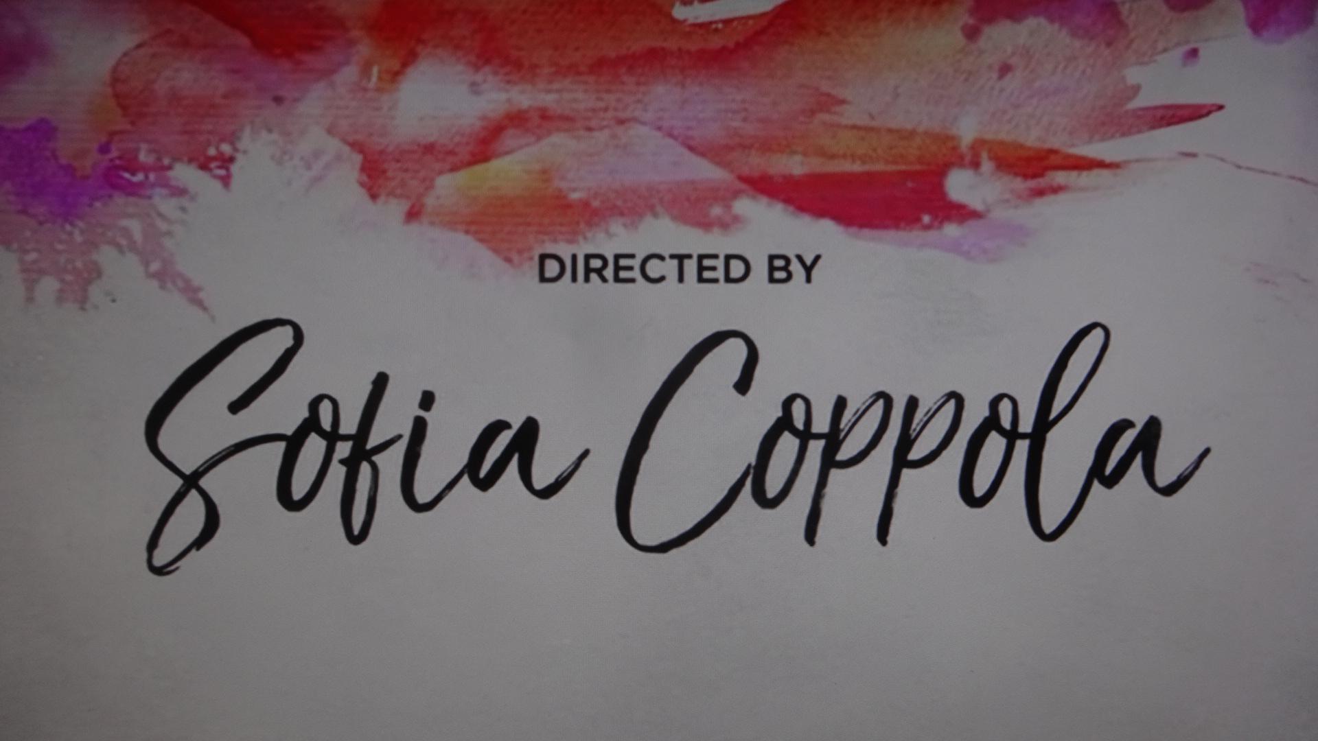 ソフィア・コッポラと書かれたカード