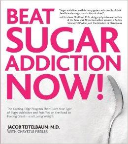 砂糖中毒を打ち破ろうと鼓舞するポスター