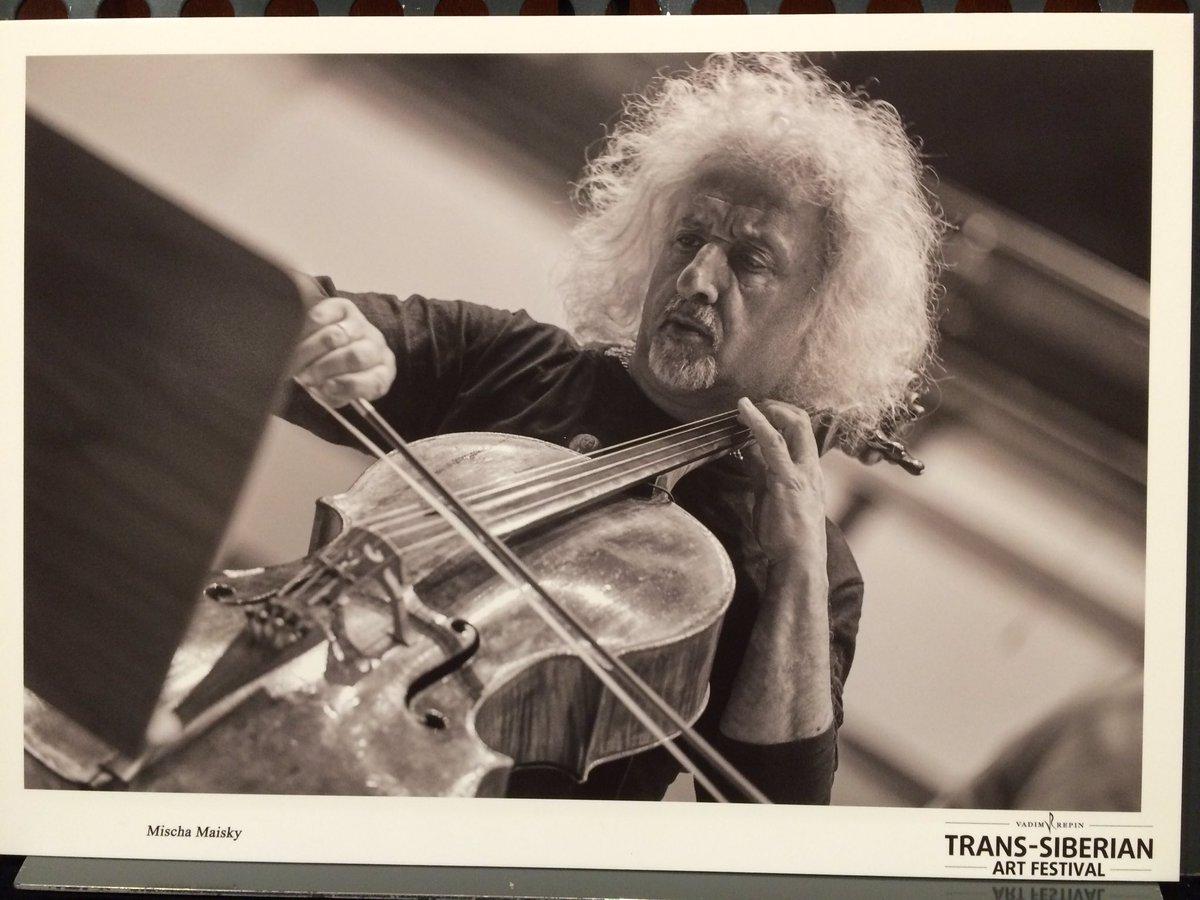 チェロを奏でるマイスキーさん