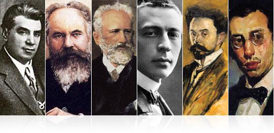 ロシアの芸術家たち