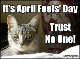 今日は誰も信じるな とネコが語るポスター