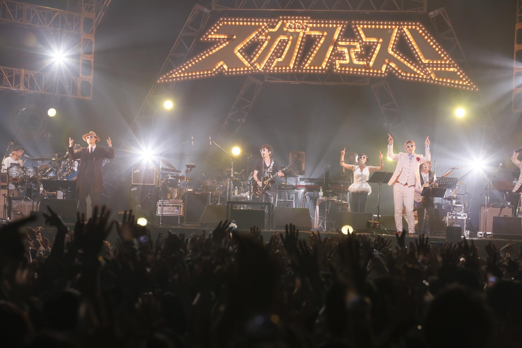 スガシカオのデビュー20周年ライブの映像