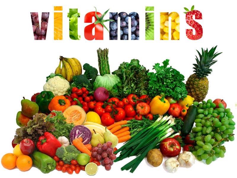 ビタミンを紹介する写真