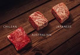 日本の和牛と外国のWAGYU